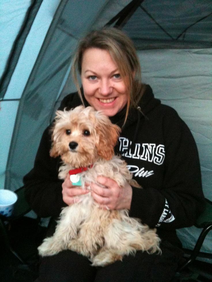 Esme loves camping
