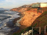 Photo via Wikipedia El Niño is delighting snow-seekers and filling reservoirs, but its strong rains and powerful waves are also threatening to cause several apartment buildings in Pacifica to go...