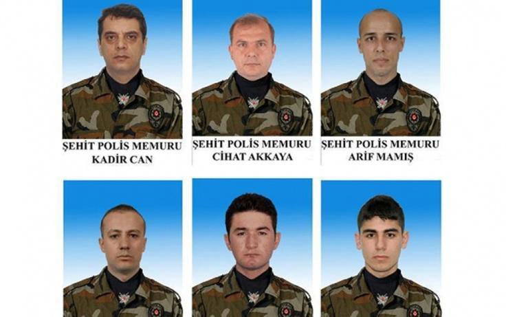 TADF'den 5 Kahraman Polisimize Taziye Mesajı