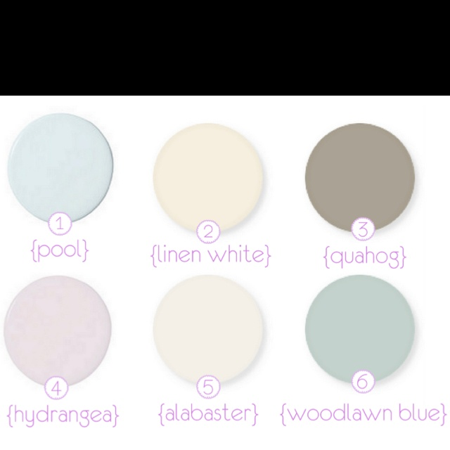 1000 images about color schemes on pinterest paint - Benjamin moore swimming pool paint 042 ...
