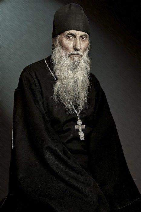 Serafiil, Russian Orthodox Monk. Схииеромонах Серафиил. Фото: И.И.Жук