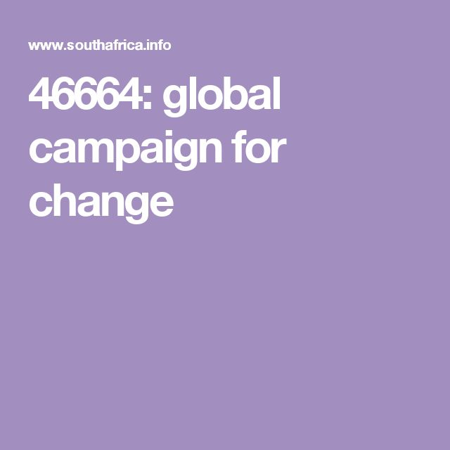 46664: global campaign for change