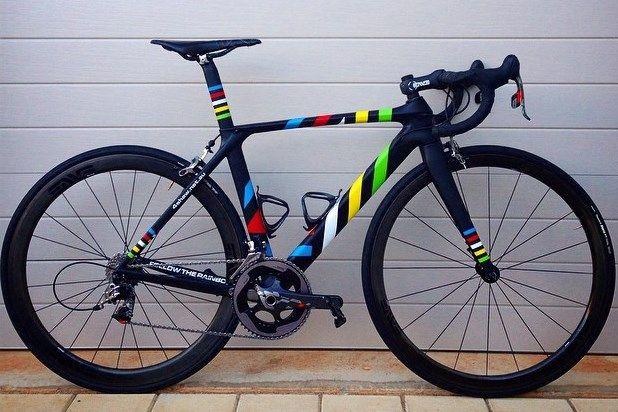 Vote 4Shaw Custom Painted Road Bike on Bike Showcase https://itunes.apple.com/app/bikeshowcase/id896128024?ls=1&mt=8 #BikeShowcase
