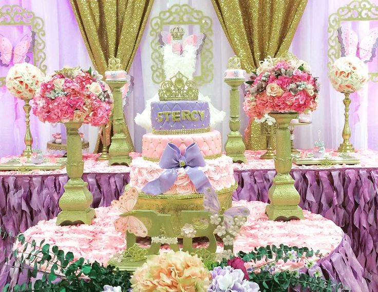 my little angel decorations s baby shower princess and garden princess garden at catch my party