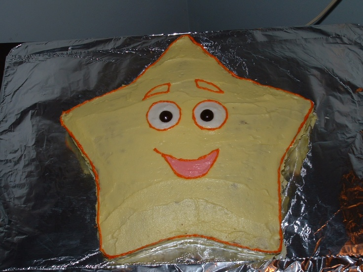 A star, a star!  Dora the Explorer would love to catch this one!: 2Nd Birthday, Birthday Ideas