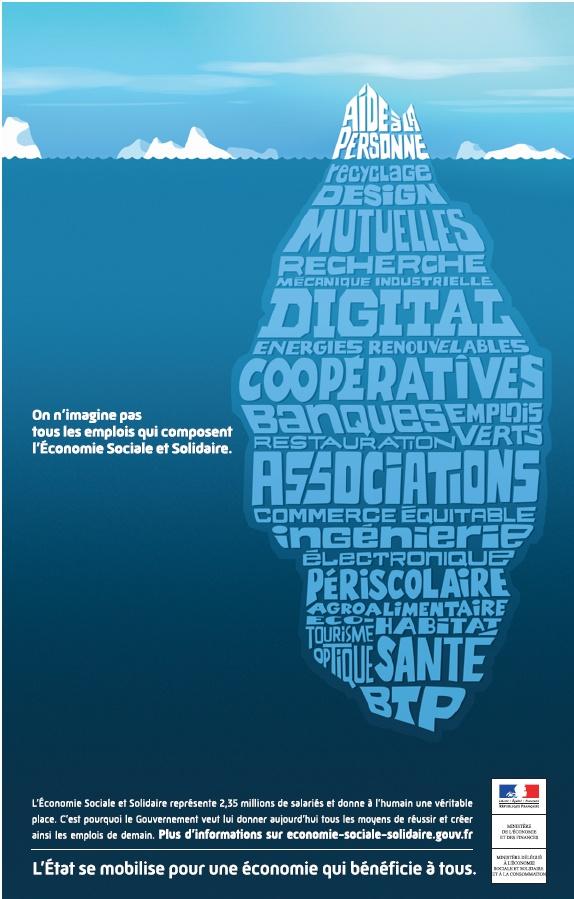 [Infographie]  #ESS un gisement d'emplois insoupçonnés ! http://www.forumemploi-solidaire.org/wp-content/uploads/2012/11/campagne-nationale.jpg #scop #economie #recyclage #transition