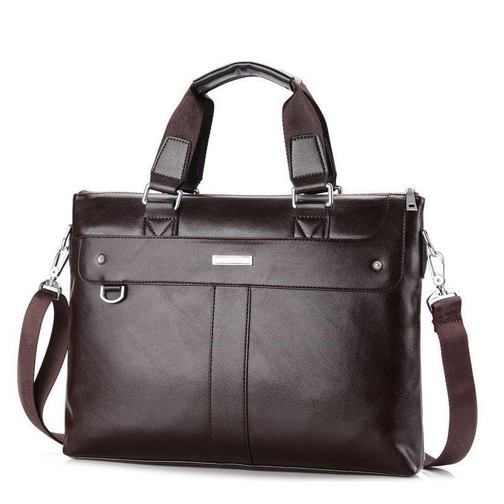 Men Casual Briefcase Business; Shoulder Bag; Leather Messenger Bags; Computer Laptop Handbag; Men's Travel Bag;   $40.88   #purplerelic #briefcase #MensBags #LaptopBags #MessengerBags