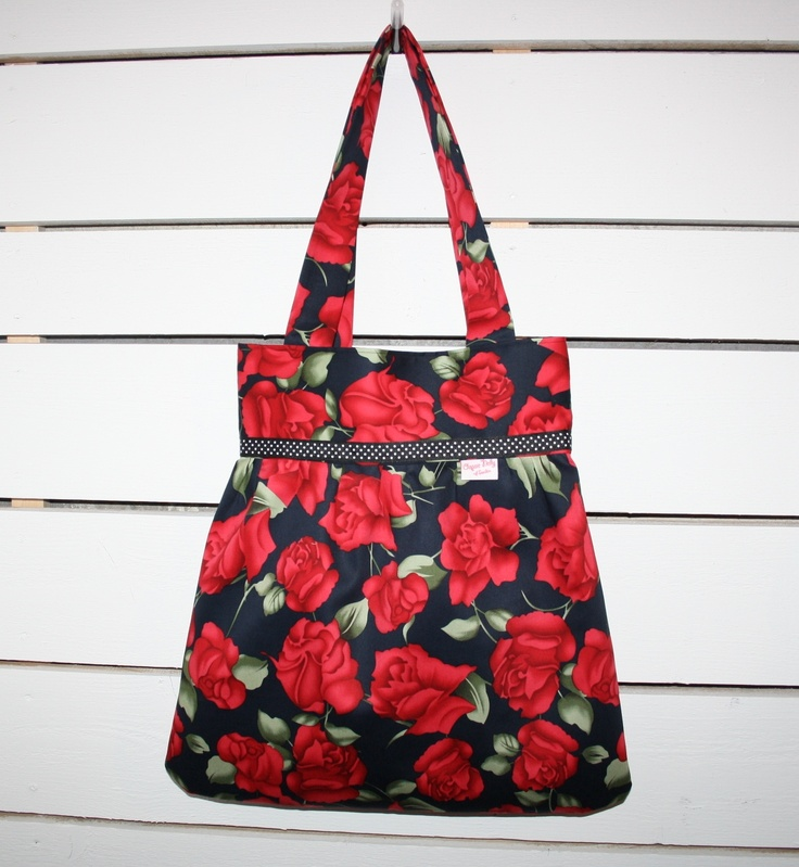 Bag with roses <3