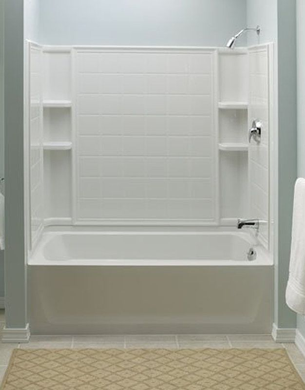 10 best buying corner shower units images on pinterest for 6 tub shower combo