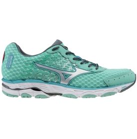 Mizuno Women's Wave Inspire 11 Running Shoe - Light Blue/White/Silver | DICK'S Sporting Goods