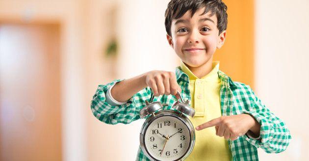 6 maneras de enseñarle a tus hijos el valor de la puntualidad