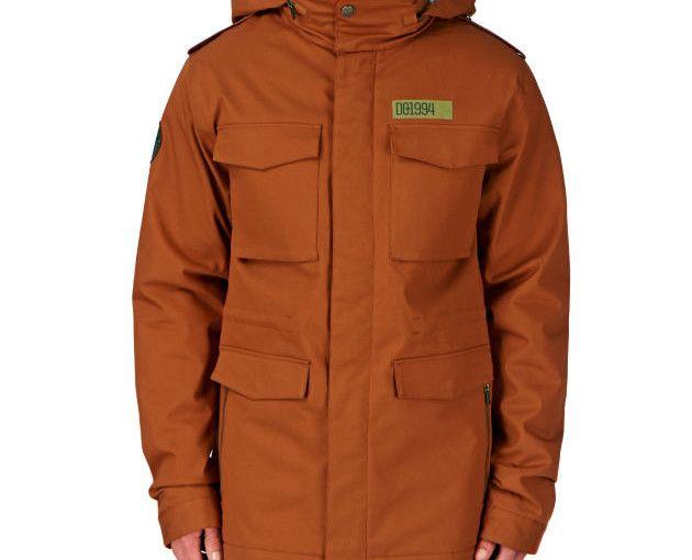 Men's Dc Tick Snow Jacket - Autumnal specials