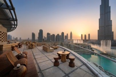 5* style in Downtown Dubai at The Address Downtown http://www.globehunters.com/Jebel-Ali-Palm-Tree-Court.htm