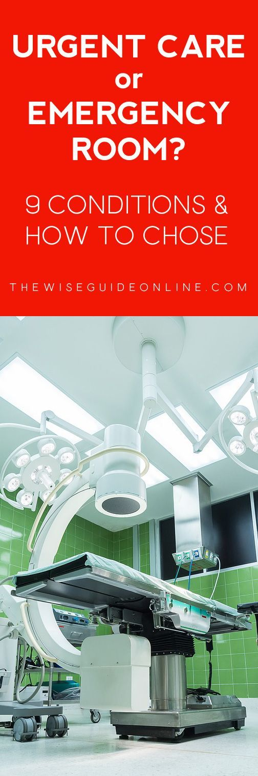URGENT CARE VS. EMERGENCY ROOM: WHERE SHOULD I GO? - How do I choose whether to go to the emergency room or the nearest urgent care facility? Learn the symptoms and recommended locations to make your decision with confidence.