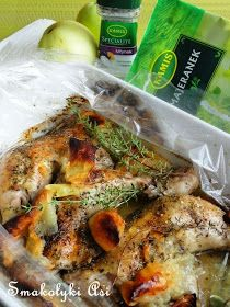 Pyszny i szybki obiad, który właściwie robi się sam. Majeranek i tymianek nadają udkom wspaniały smak i aromat a dzięki jabłkom mięso jest...