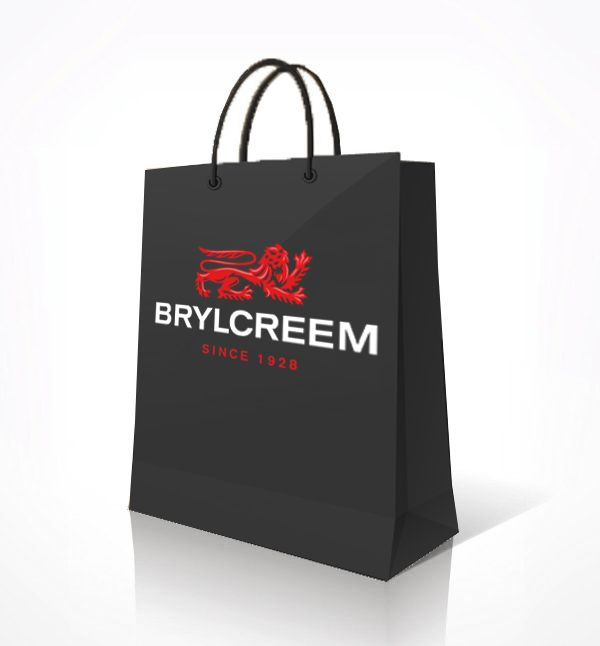 Brylcreem Paper Shopping Bag.