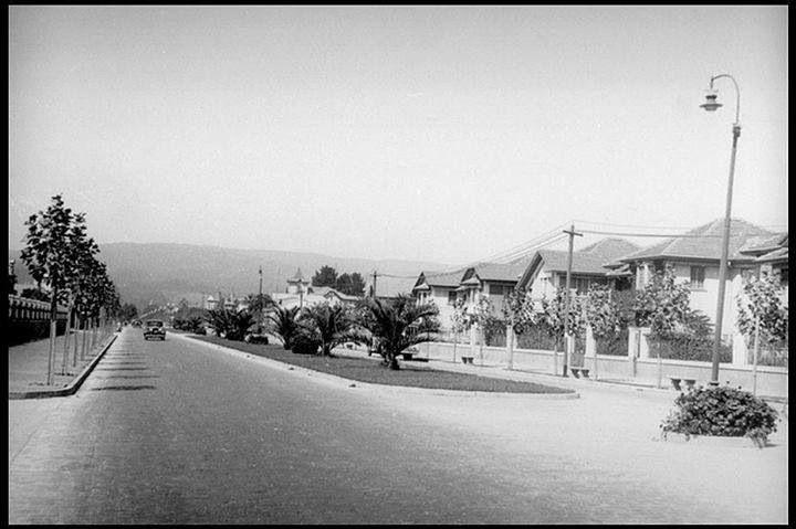 Avenida Libertad, Viña del Mar, 1930