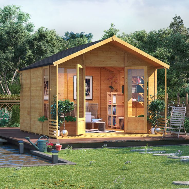 Buy a BillyOh Ivy Tongue and Groove Apex Summerhouse from Garden Buildings Direct
