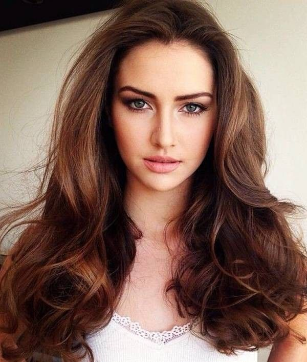 Best Color Brown Hairstyles Images On Pinterest Brown - Hair colour of 2016