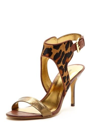 Animal Print Detail High Heel