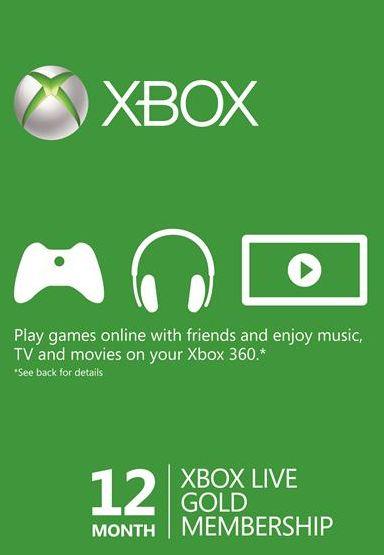 Xbox Live 12 Months Gold Membership ,Scdkey.com