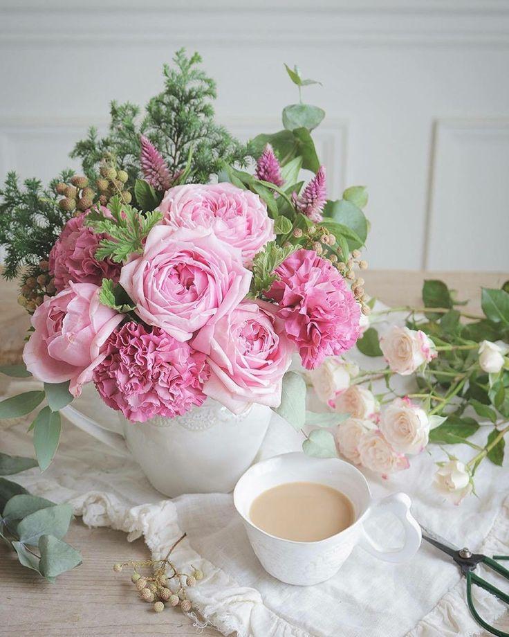 Красивые фото цветов доброго утра как недорогой