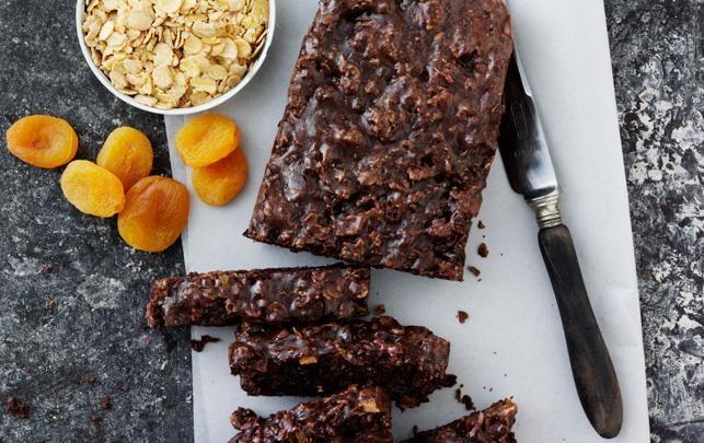 Proteinbar med chokolade