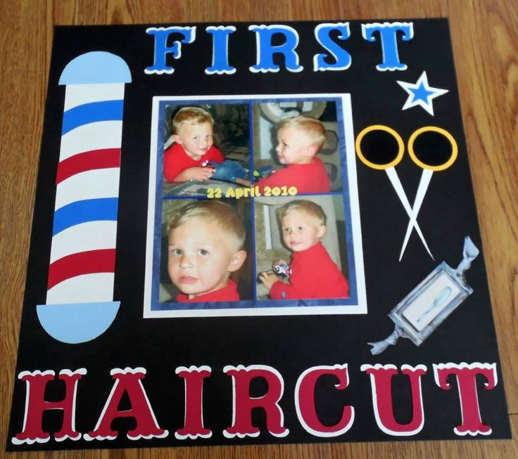 First Haircut - Scrapbook.com