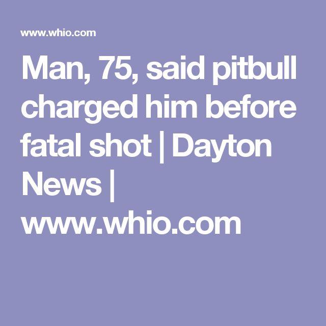 Man, 75, said pitbull charged him before fatal shot | Dayton News | www.whio.com
