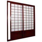 Oriental Furniture Shoji Double Sided Sliding Door Kit Room Divider