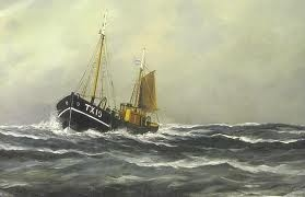 Hendrik Willem Mesdag - Fisher Boat