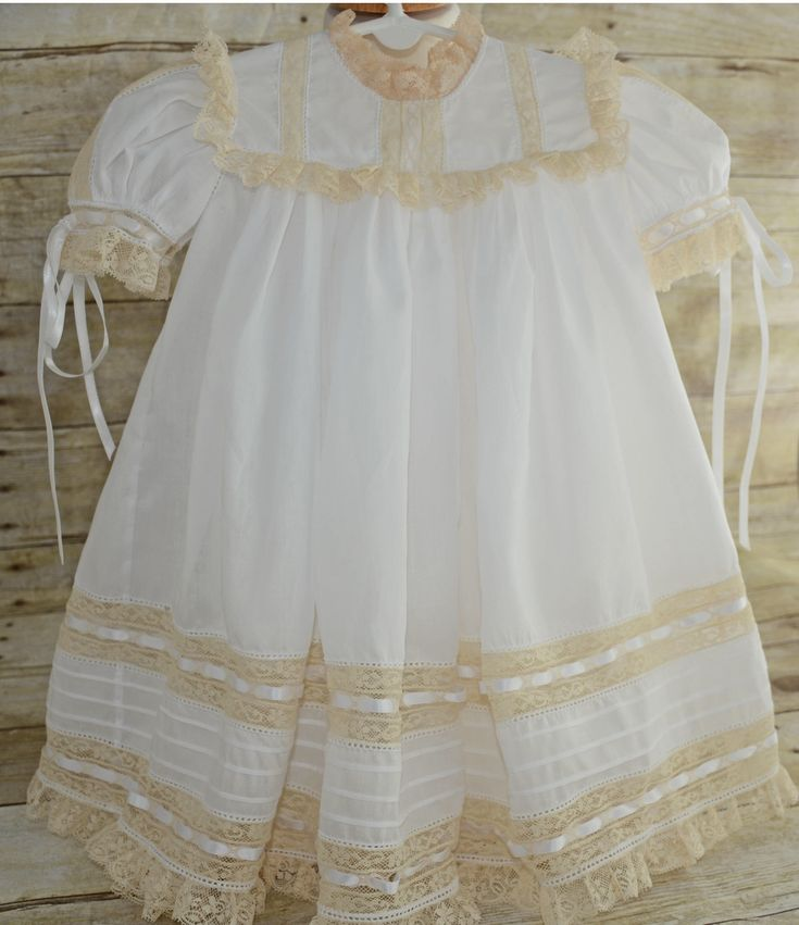 Toddler White Swiss Batiste Heirloom Dress and Slip by MonogramElegance on Etsy https://www.etsy.com/listing/554130113/toddler-white-swiss-batiste-heirloom