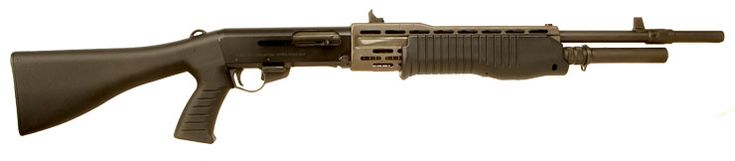 Franchi SPAS 12 Semi Auto Pump Action ShotgunLoading that magazine is a pain! Get your Magazine speedloader today! http://www.amazon.com/shops/raeind