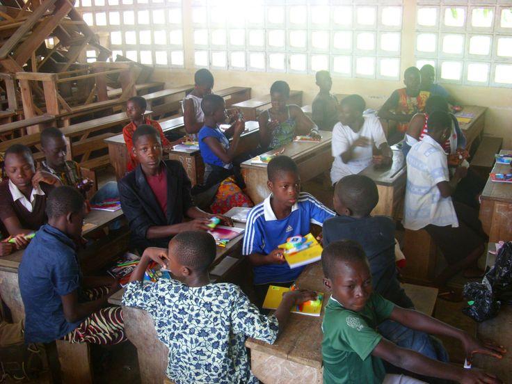 Soutien scolaire au collège - Togo 2013