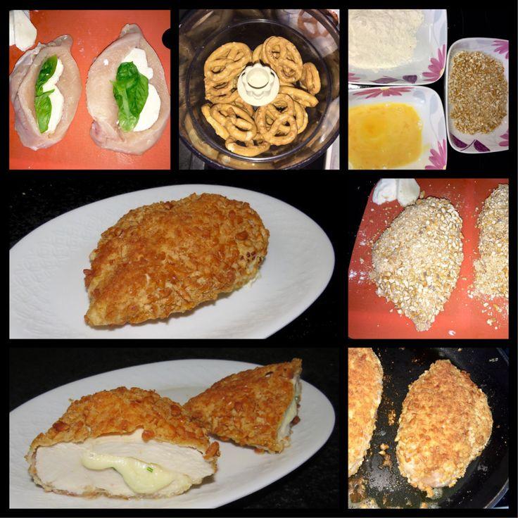 Ich werde Hähnchen erst mal nicht mehr anders panieren!!! Sehr lecker!  Delicious! I won't bread chicken in another way for some time!!!