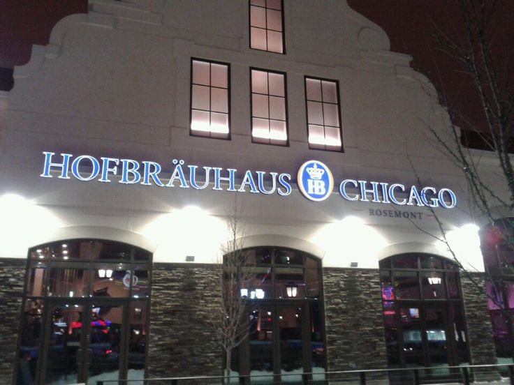 Located in Rosemont, this is an authentic German Brewery.  Freshly brewed beer and yummy German food. Throw in some nightly live music and you have yourself a party!  A fun experience.