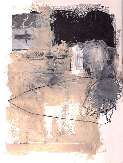 Abstract Collage Art by Marie Bortolotto