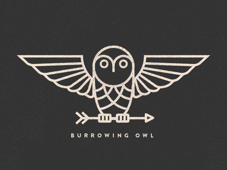 Burrowing Owl  by Alex Eiman #Design Popular #Dribbble #shots