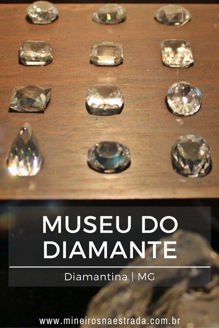 O Museu do Diamante, em Diamantina, poderia ser chamado de Arquivo Histórico, pois fala muito mais do que só sobre garimpo.