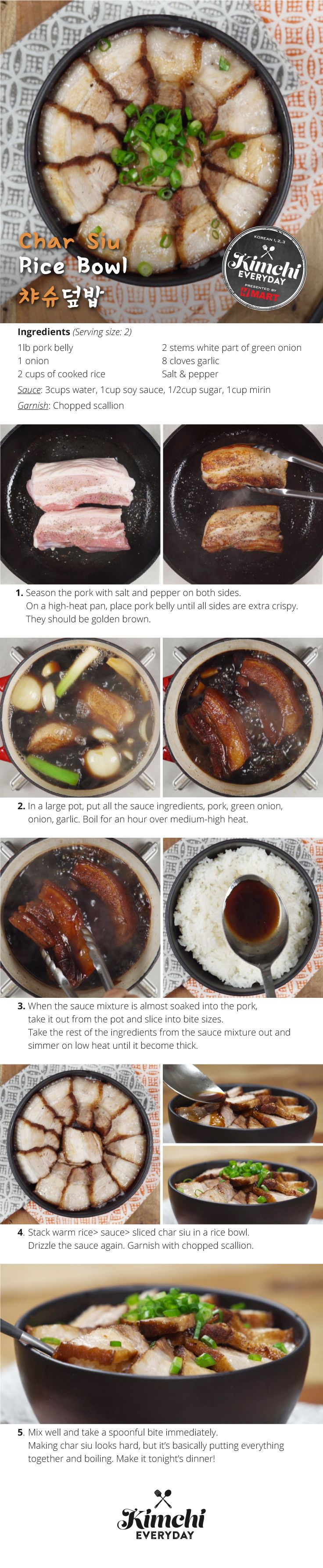 Hmart presents: How to make Char Siu Ramen Bowl
