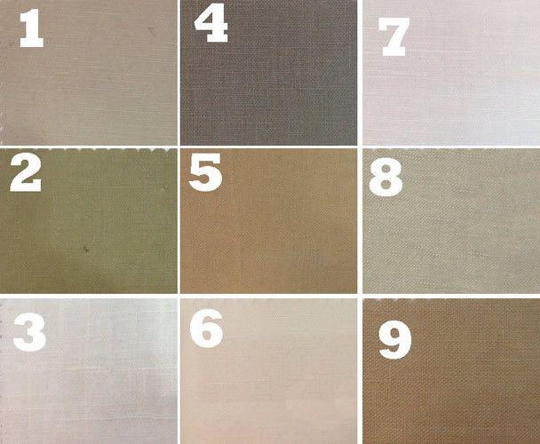 Linen blend fabrics_organized
