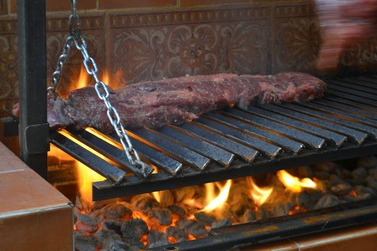 17 best images about asados on pinterest gaucho - Como hacer un asador ...