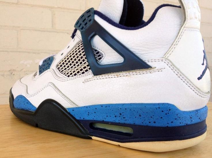 Air Jordan IV- Blue Speckle