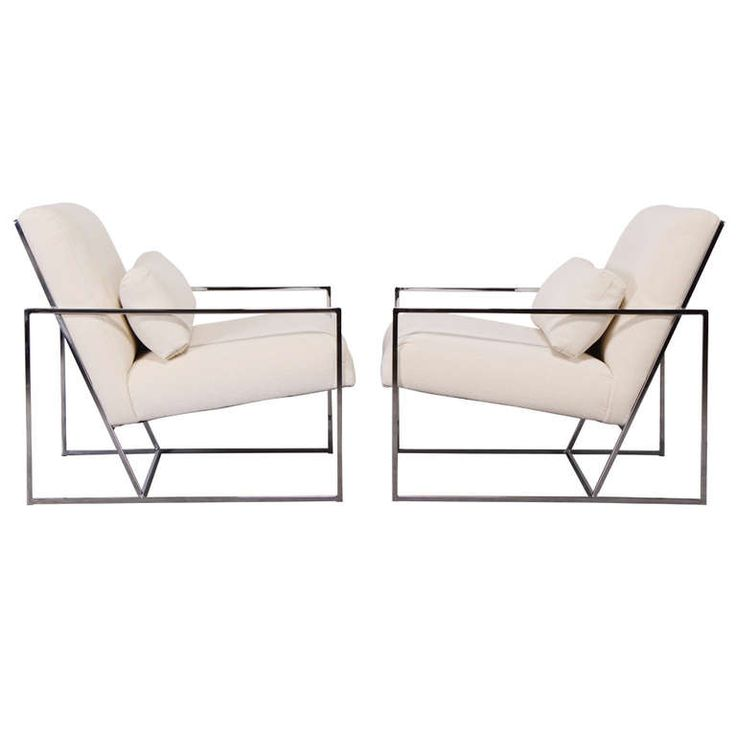 Fabulous Pair of Milo Baughman Chairs | From a unique collection of antique and modern lounge chairs at http://www.1stdibs.com/furniture/seating/lounge-chairs/