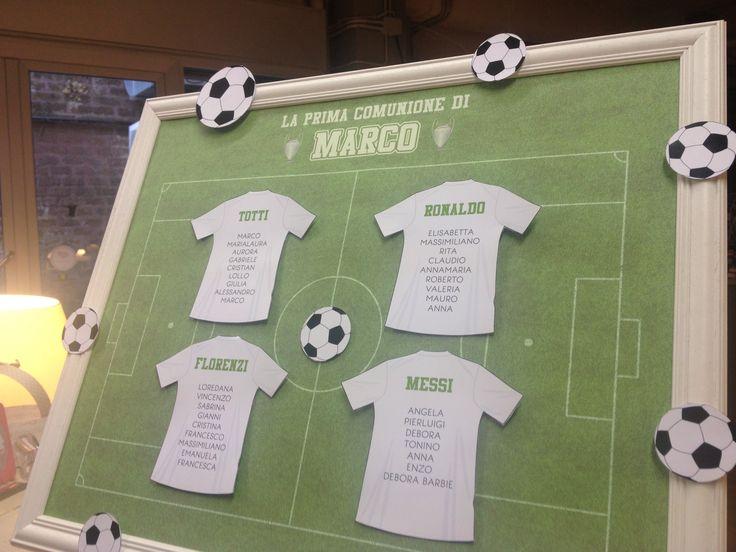 Tableau tema calcio
