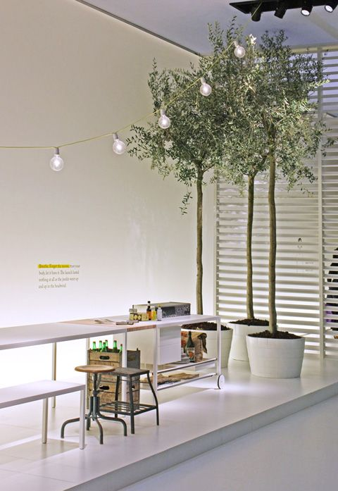 "fair |  trade fair stand | by desalto | ""helsinki"" kitchen-office counter."