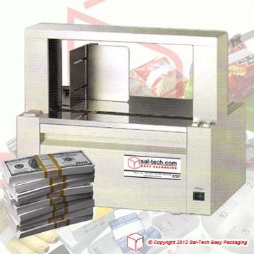 STEP Band 1100 banding machine for fast and reliable banding applications where speed and precision is a must.