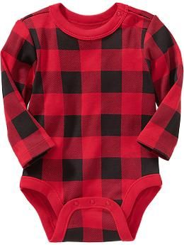Long-Sleeved Bodysuits for Baby fall winter spring