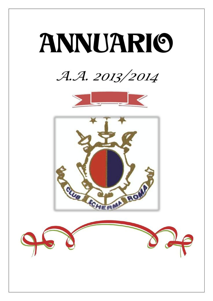 Annuario del Club Scherma Roma aa 2013 2014  Yearbook of the season 2013/2014 of the prestigious Rome Fencing Club (Italian fencing Club) . Emotions and faces of our athletes and a slice of life of the Club Conceived and founded by Eng. Renzo Nostini and Eng. Sideny Romeo over fifty years ago is now at the center of the national landscape of the  fencing : The Rome fencing Club  has won 32 national championships.  ebook language : italian