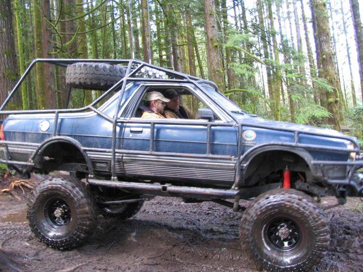 off-road Subaru Brat